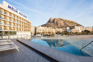 Piscina Hotel Meliá Alicante